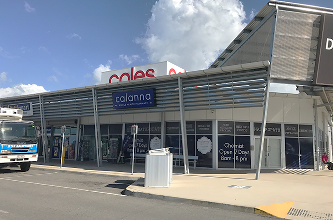 Calanna Pharmacy Deeragun Fit-Out